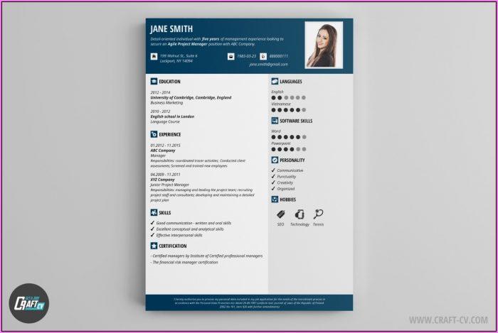 Modern Resume Builder