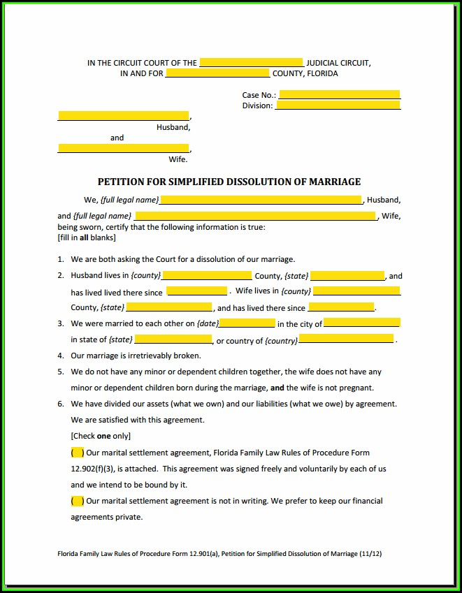 New York City Uncontested Divorce Forms