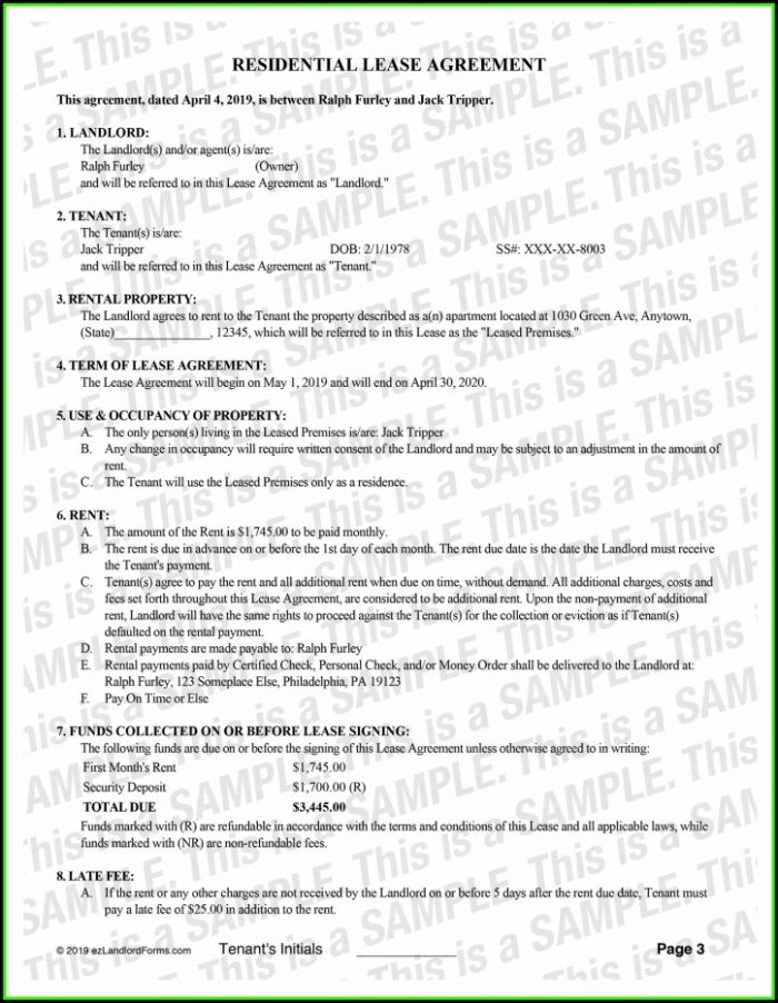 Nyc Apartment Lease Renewal Form