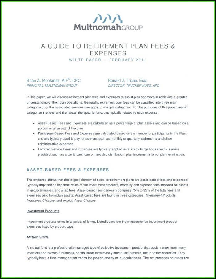 Principal Retirement Plan Forms