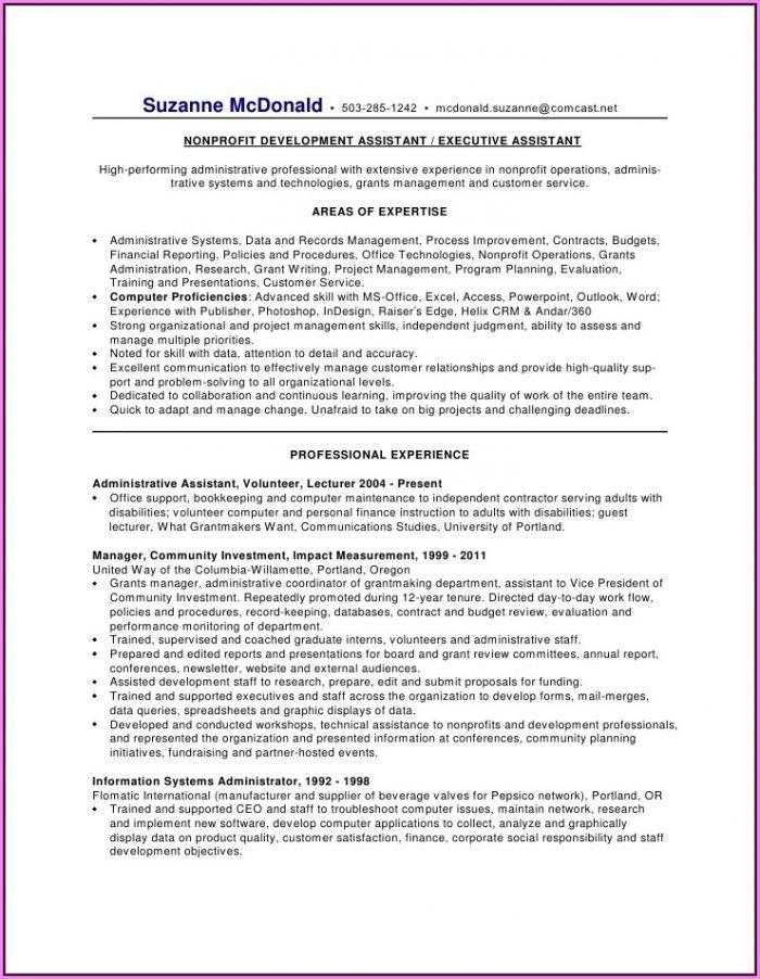 Professional Resume Services Orlando
