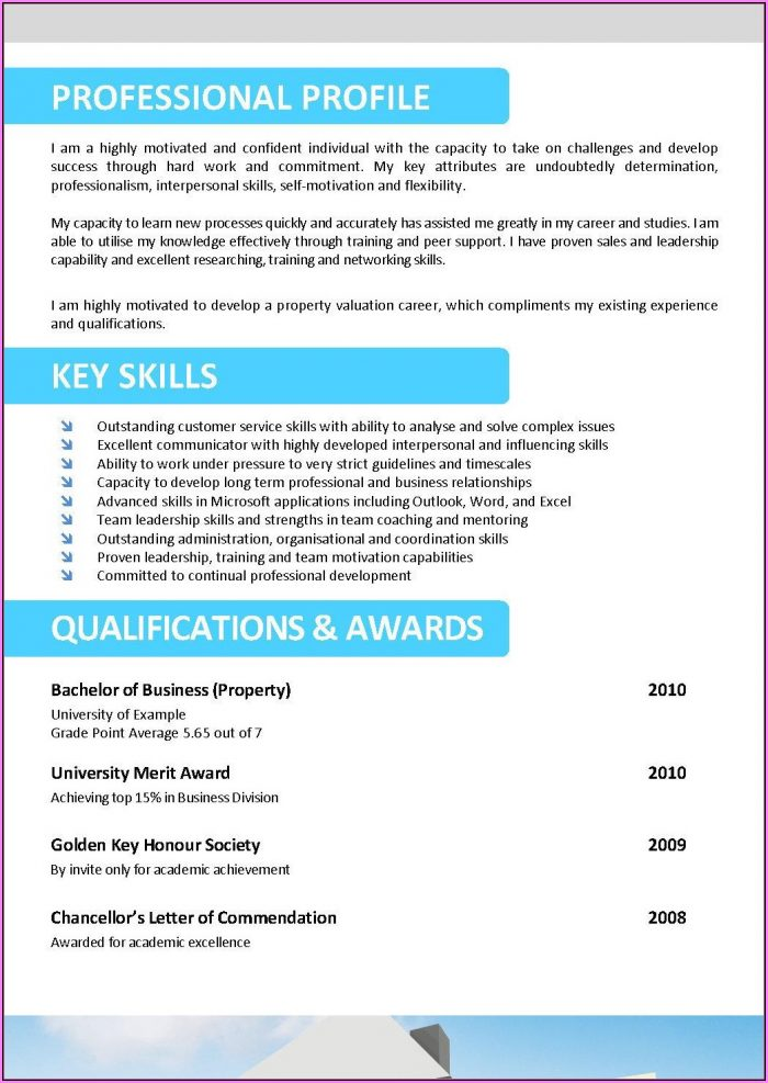 Real Estate Agent Resume Template