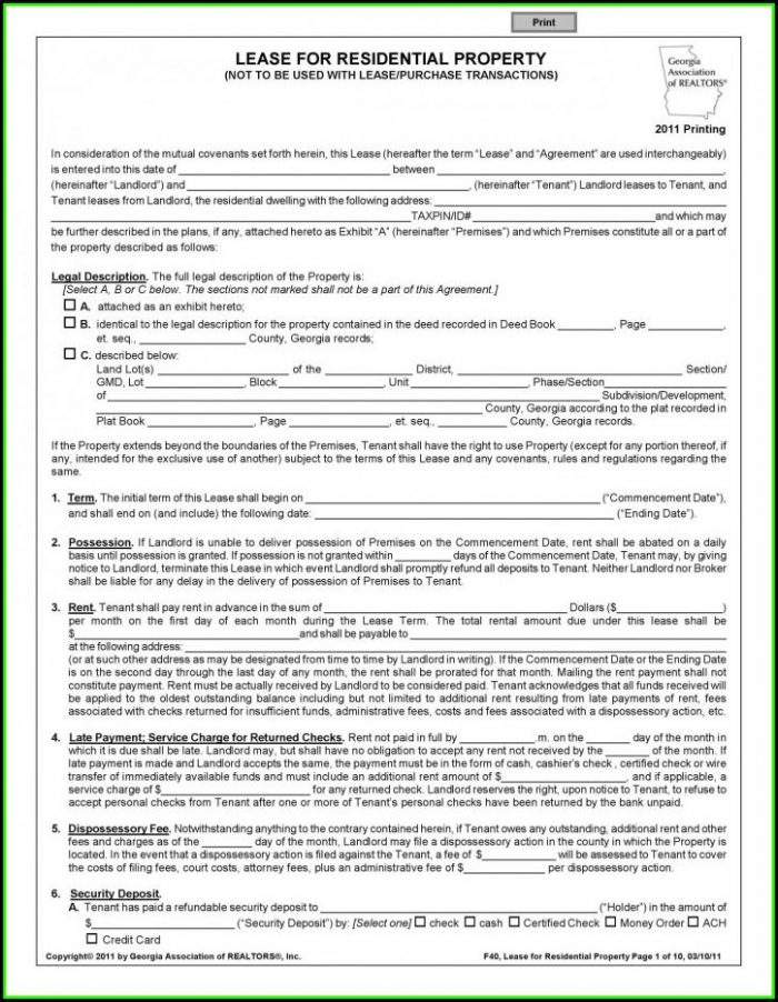Rent Stabilized Lease Renewal Form Nyc