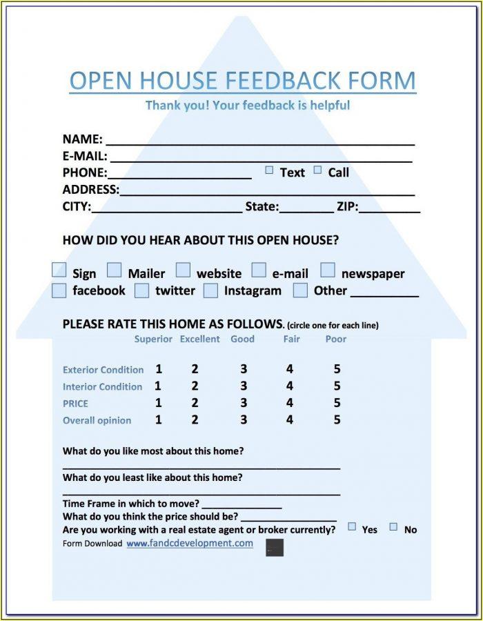 Restaurant Customer Feedback Form Template Free Download