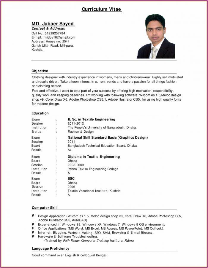 Resume Builder Software Free Download Windows 10