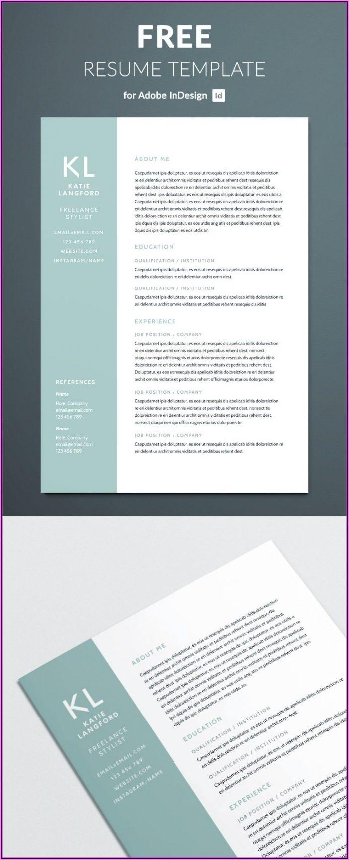 Resume Example Pdf Free Download