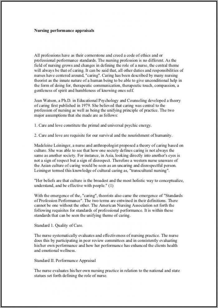 Resume Format For Nurses Doc