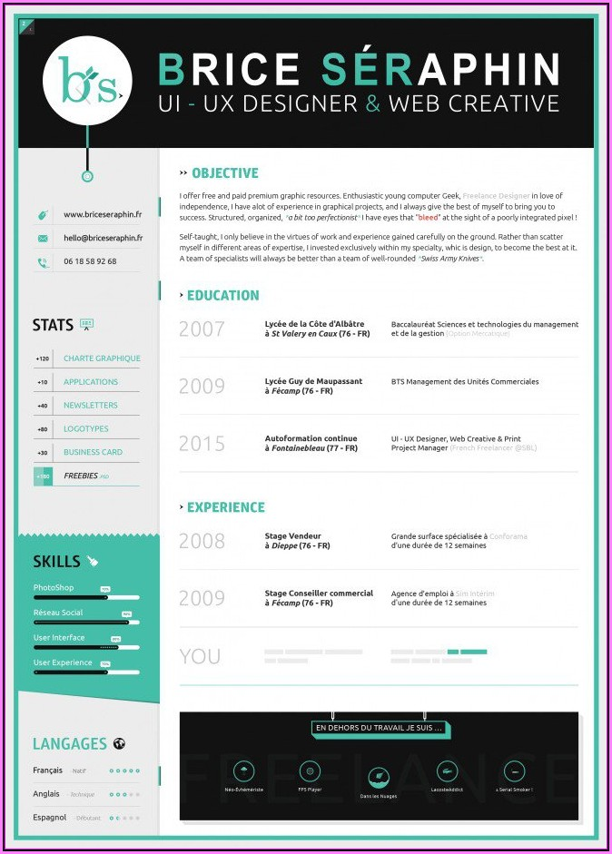 Resume Format Free Download In Ms Word 2016