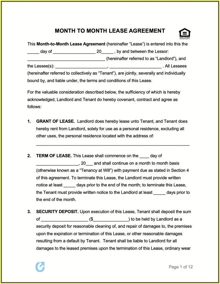 State Of Nevada Rental Agreement Form