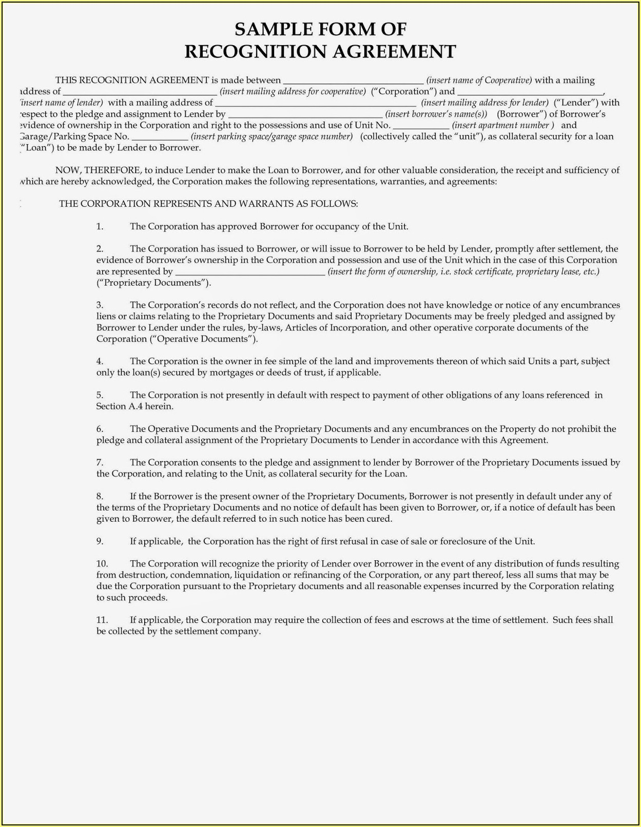 Sublease Rental Agreement Forms Free