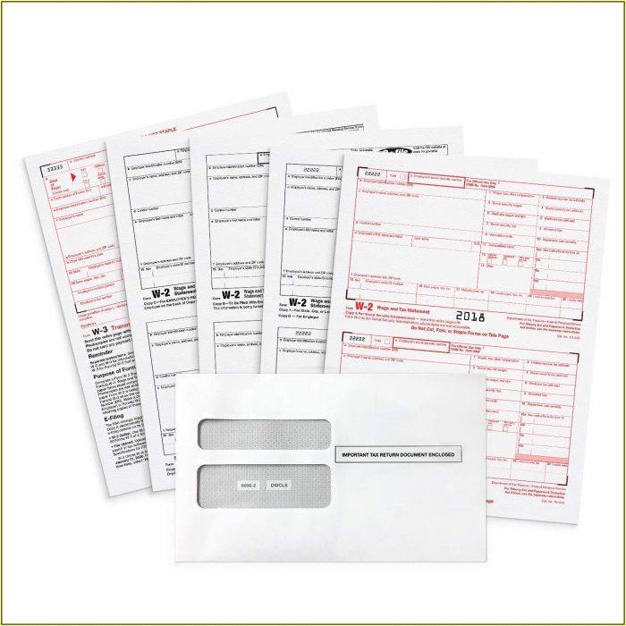 Tax Forms W2 2018