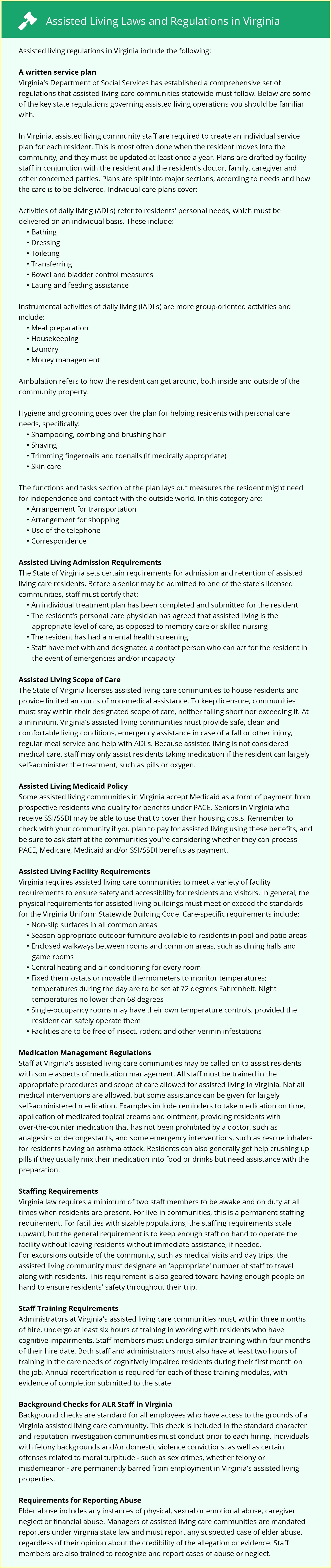 Virginia Assisted Living Physical Form