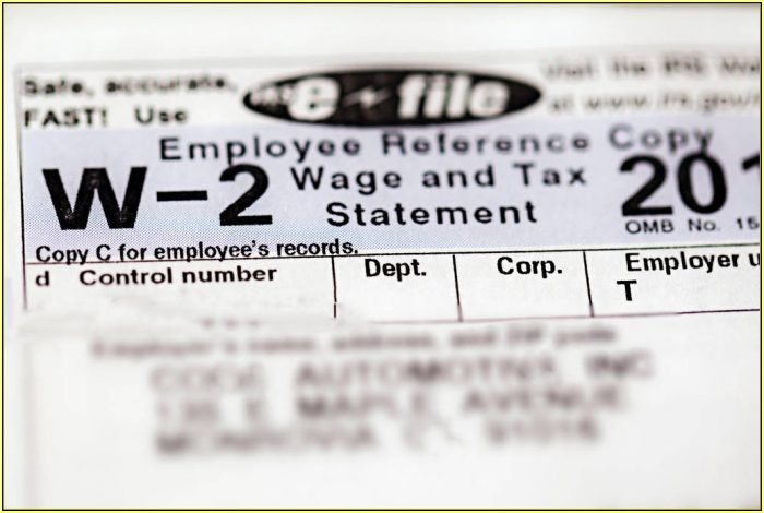 W2 Request Form Irs